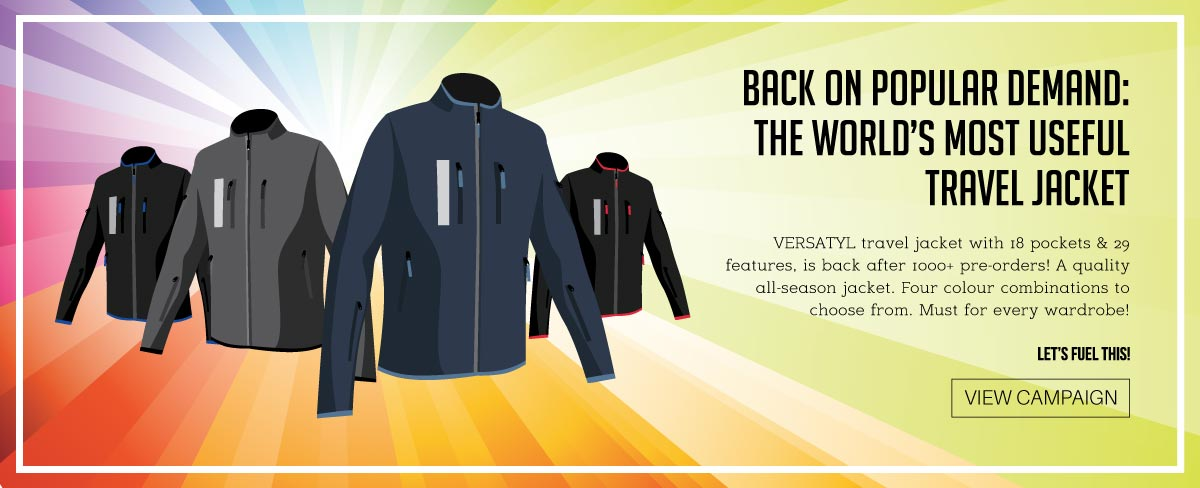 Versatyl Travel Jacket